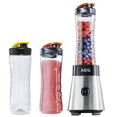 AEG PerfectMix SB 2500 Mini Mixer + extra Trinkflaschen