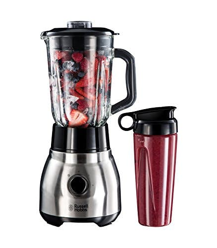 Russell Hobbs 2 in 1 Glas-Standmixer & Smoothie Maker